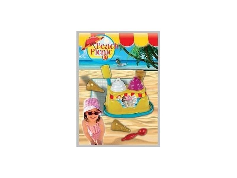 Beach picnic-stand de glaces 2357