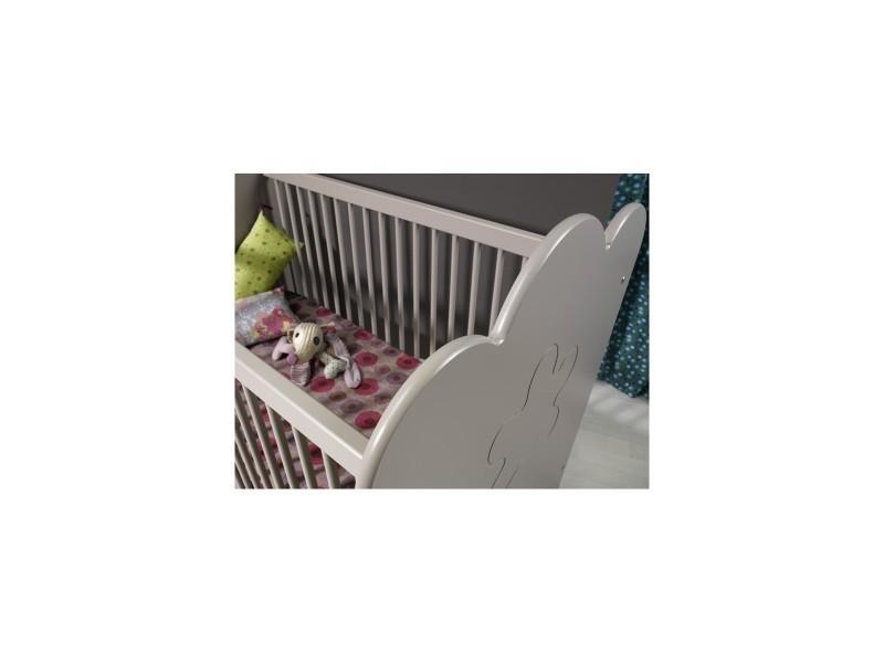 Fabrications Lit De Bébé à Barreaux Mea : Lit bébé à barreaux linéa vente de chambrekids conforama