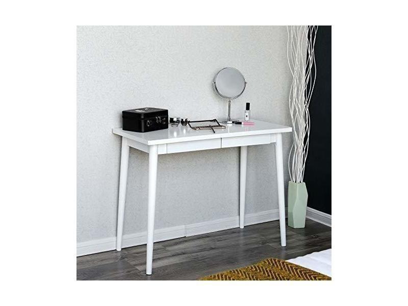 Songmics table détude bureau pour ordinateur table de maquillage