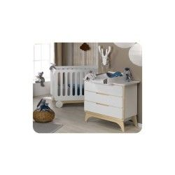 Mini chambre bébé pepper avec plan à langer