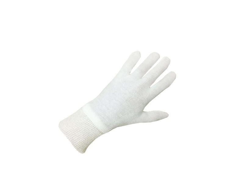 Pack de 10 paires de gants coton beige taille xl/10 ep 4105 4105