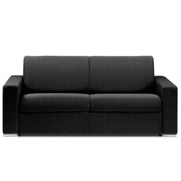 canape lit 2 3 places dreamer microfibre gris convertible With tapis chambre bébé avec housse pour canapé cuir 2 places