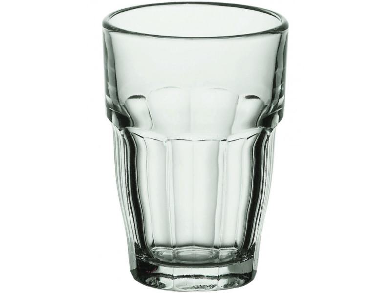 Verre haut rock bar 650 ml - lot de 6 - stalgast - 9,6 cm verre 65 cl