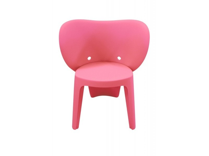 Chaise enfant rose - elephanto rose