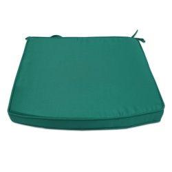Coussin vert pour fauteuil samoa