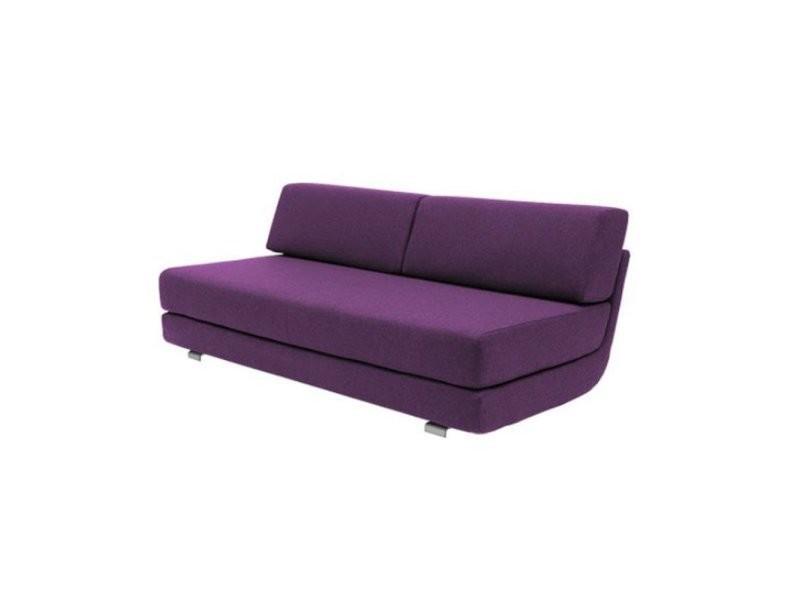 Module convertible lounge 3 places en tissu violet couchage 160*198cm softline 20100874953