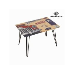 Table basse avec voiture rouge by craften wood