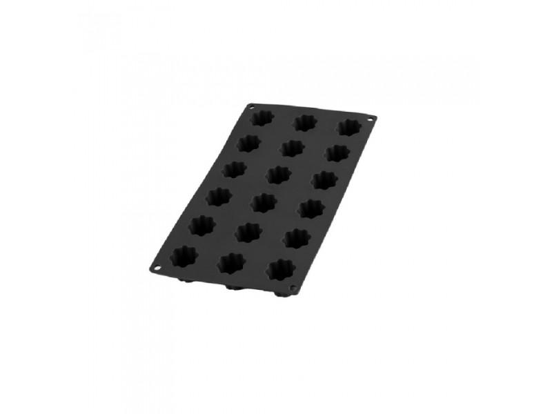 Moule pour 18 mini cannelés en silicone