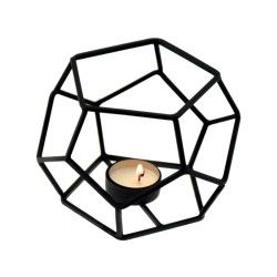 Photophore cage - 1 bougie - black line