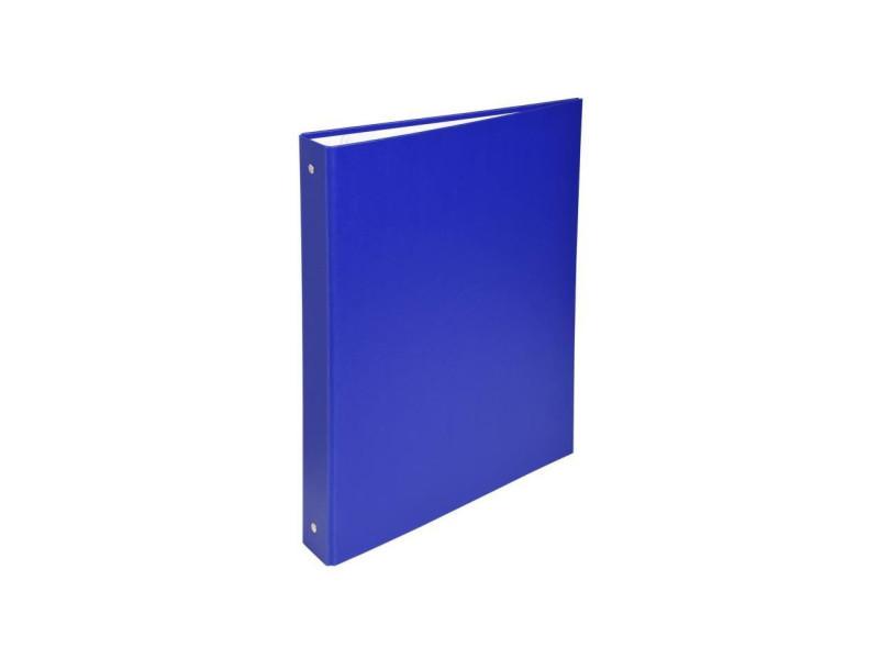 - classeur a anneaux - dos 40 mm - 21 x 29,7 - 4 anneaux - remborde plastique 18/10eme - couleur bleue EXA3130630513728