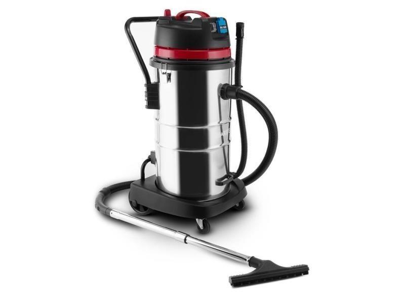 Klarstein reinraum aspirateur industriel sec & humide 2000w hepa 60l -rouge