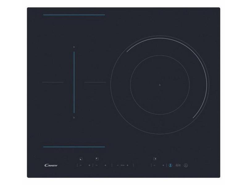Table de cuisson à induction 60cm 3 feux 7100w noir - ctp634dc ctp634dc