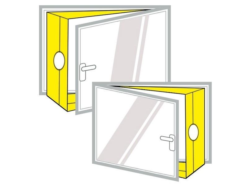 voile isolant pour ouverture fen tre ou porte airlock airlock100 vente de ventilateur et. Black Bedroom Furniture Sets. Home Design Ideas
