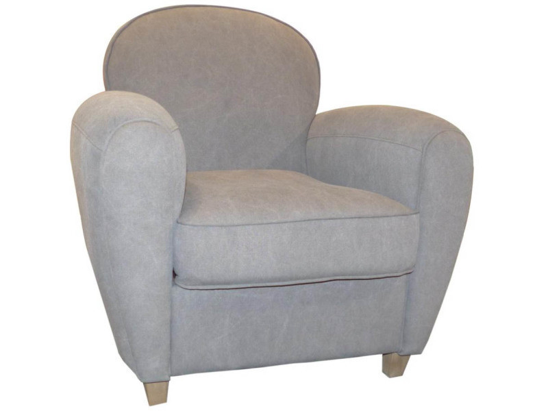 fauteuil club vintage grand classique vente de cotton wood conforama. Black Bedroom Furniture Sets. Home Design Ideas