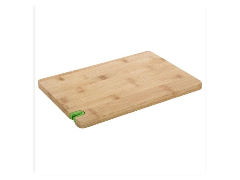 Planche à découper avec aiguiseur - bambou