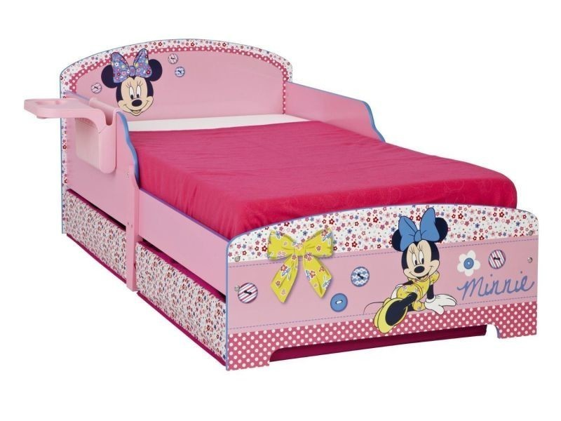 lit enfant disney minnie mousse vente de lit enfant. Black Bedroom Furniture Sets. Home Design Ideas