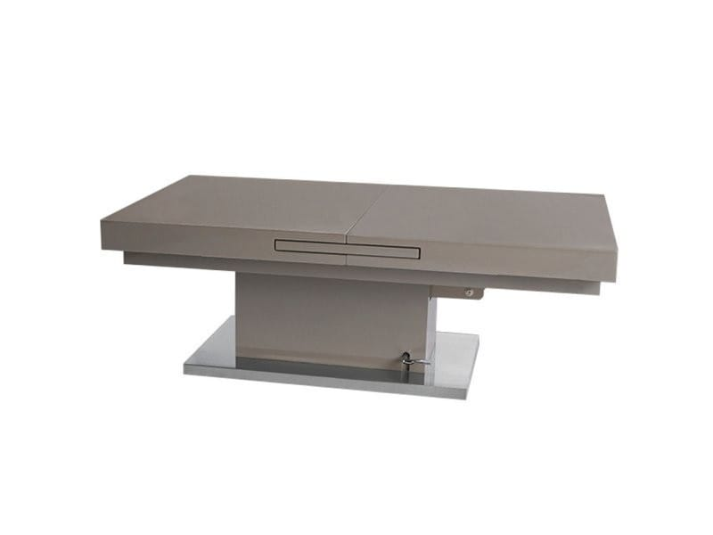 Table basse relevable extensible setup taupe 20100879525