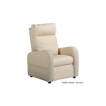 fauteuil releveur 2 moteurs fidji filaire cuir vente de ma literie conforama. Black Bedroom Furniture Sets. Home Design Ideas