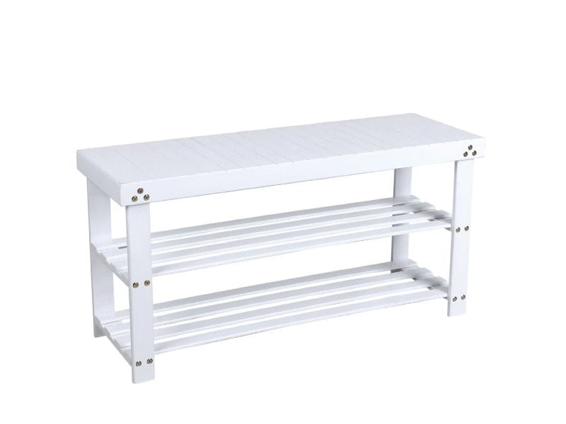 meuble chaussures banc banquette tag re armoire blanc 90 cm helloshop26 2012097 vente de. Black Bedroom Furniture Sets. Home Design Ideas