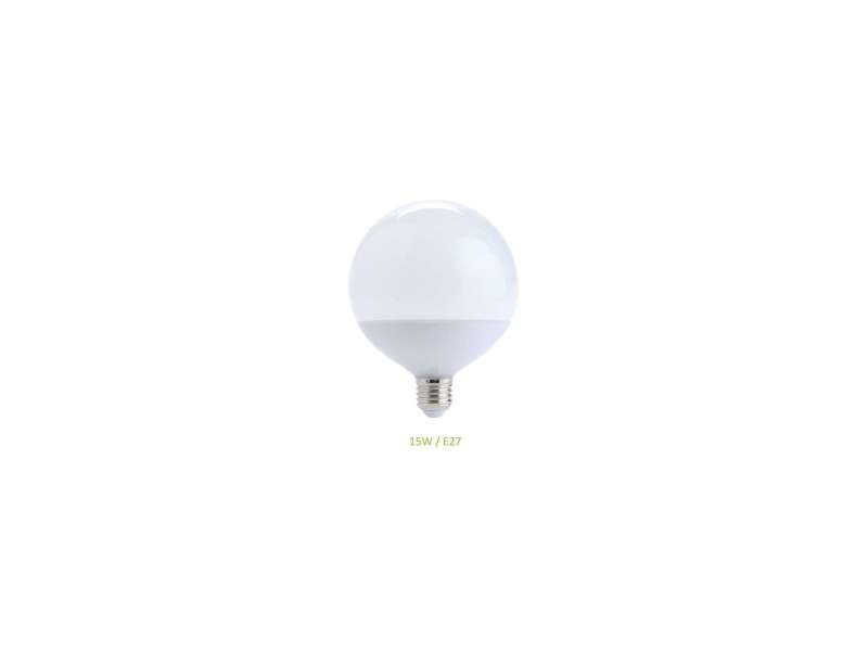 Ampoule e27 15w (eq. 100w) globe g120 led - blanc chaud 3000k EC-3009