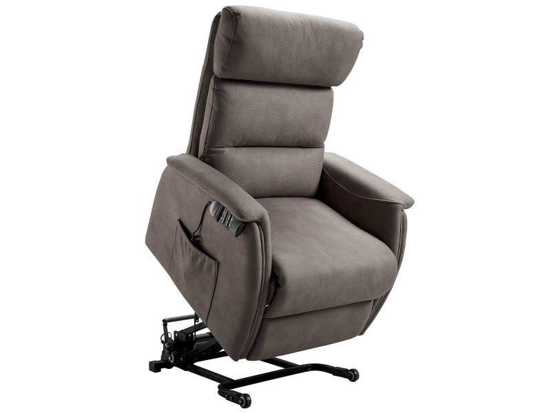 Pacios - fauteuil relax et releveur electrique gris