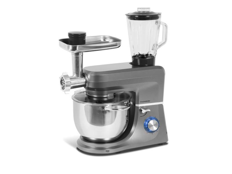 Thomson - thfp9714g – robot pâtissier – 7l – 6 vitesses – gris