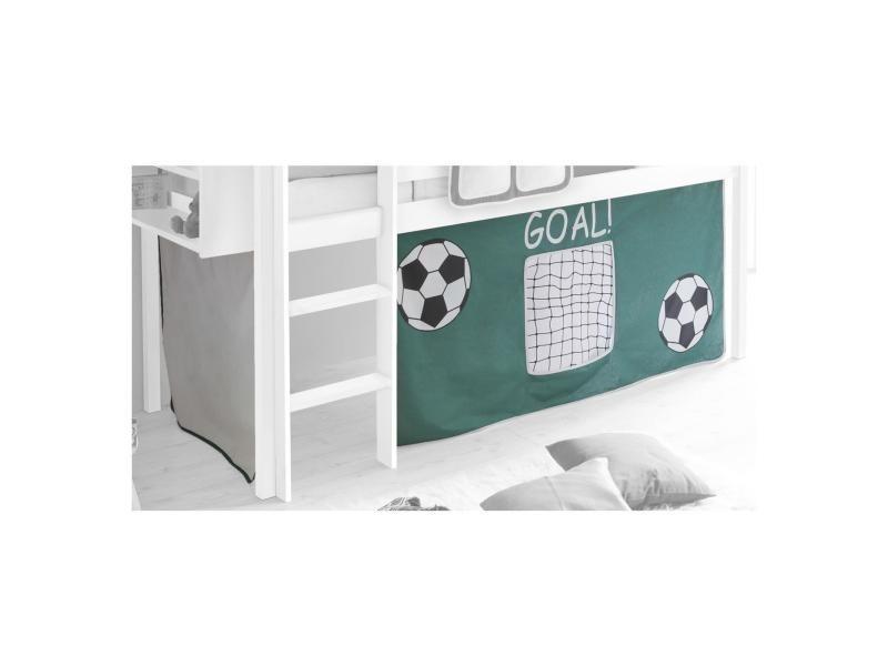 rideaux pour lit superpos lit sur lev cabane tente coton. Black Bedroom Furniture Sets. Home Design Ideas