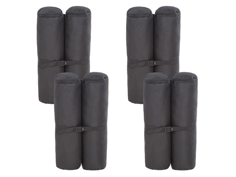 Tectake lot de 4 sacs de lestage 401260