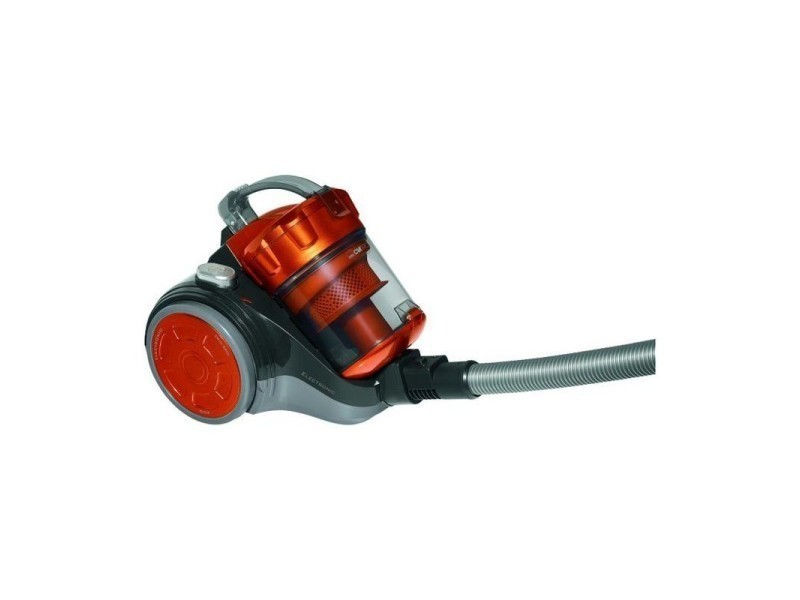 Aspirateur sans sac 700w eco-cyclon bs 1302 clatronic (orange)