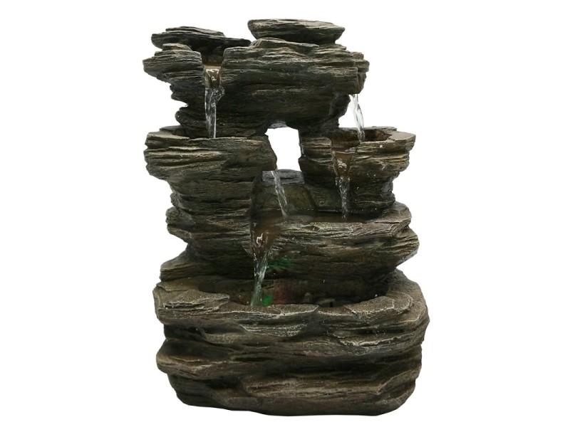 Fontaine intérieur cascades nature shirami jin
