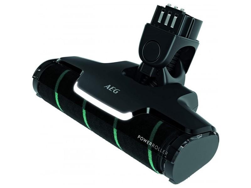 Brosse power soft roller avec led pour aspirateurs balai qx9 aeg
