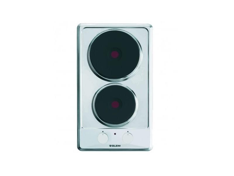 Domino électrique 29cm 2 feux inox - gt320ix gt320ix