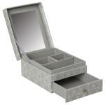 Boîte à bijoux nature scandi - gris