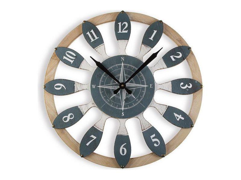 Horloges murales et de table joli horloge murale bois mdf (60 x 4,5 x 60 cm)