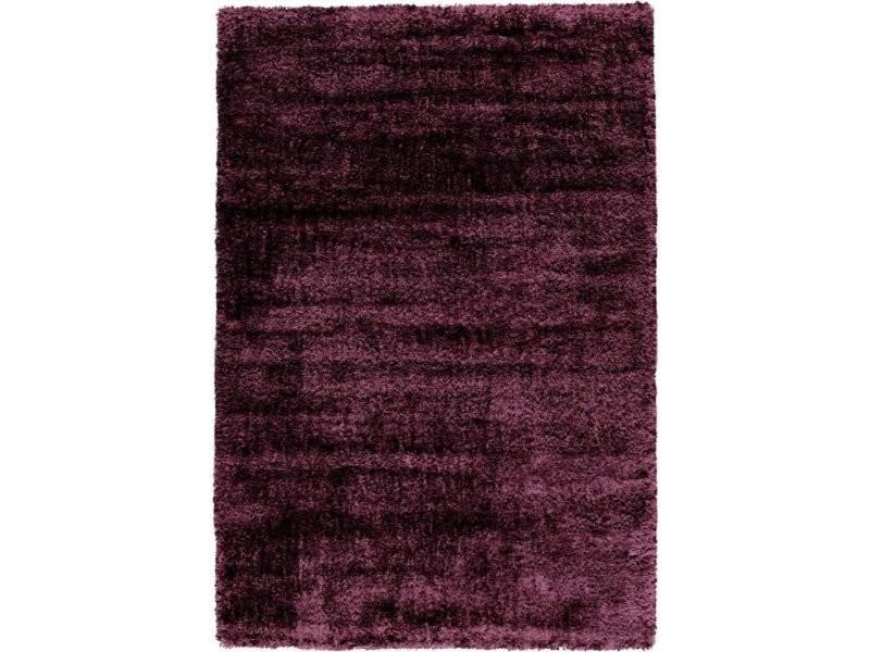 Tapis tissé grace shaggy violet HCWU9-120-170-E
