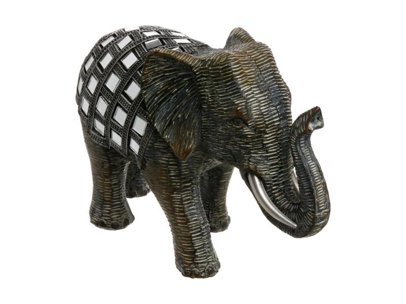 Eléphant miroir - petit modèle