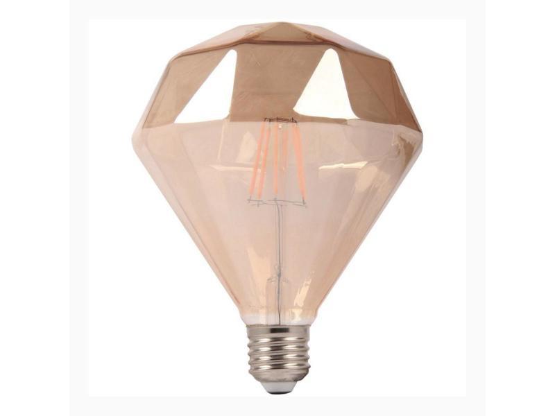 Ampoule e27 led dimmable 6w ambrée originale - blanc chaud 2300k - 3500k