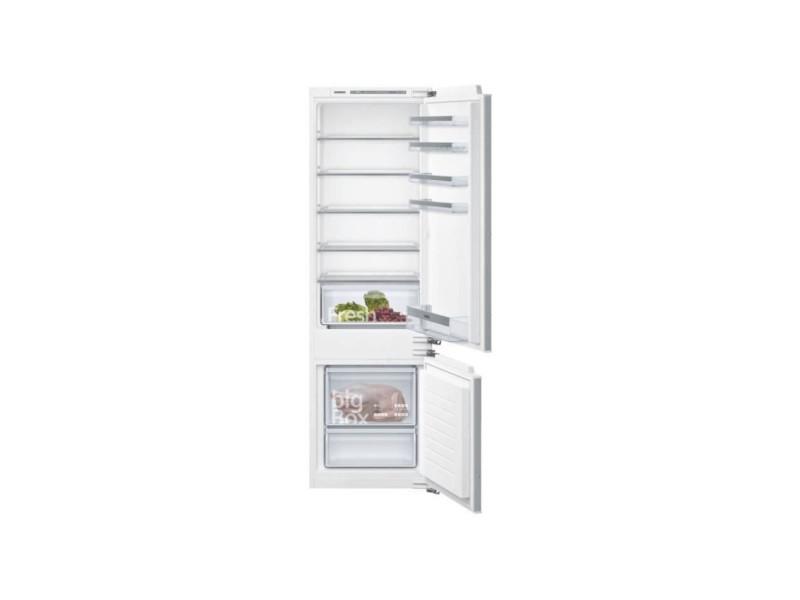 Réfrigérateur combiné 272l froid statique siemens 56cm a++, ki87vvff0 SIE4242003839805