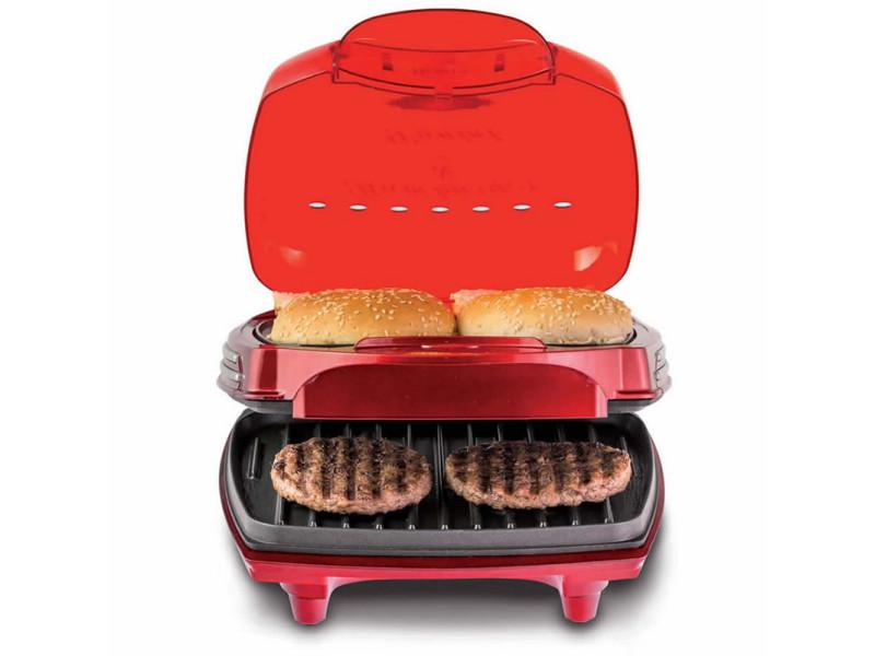 Machine à hamburger 1400w rouge - 185 rouge 185 rouge