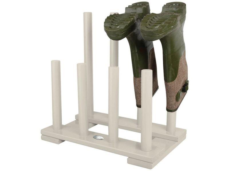 Icaverne - etagères et casiers à chaussures selection range-botte blanc esschert design cf48w