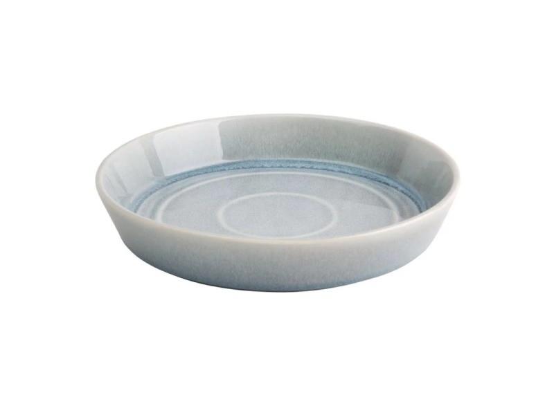 Bol rond 900 ml - 2 coloris - lot de 4 - olympia cavolo - 22 cm bleu cristallin porcelaine 90 cl