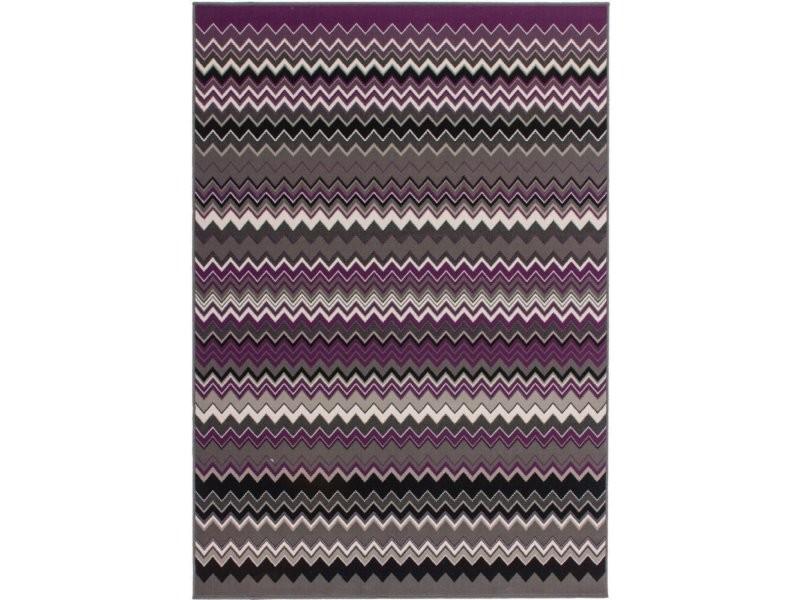 Tapis tissé now 700 multicolore violet RYVIY-160-230