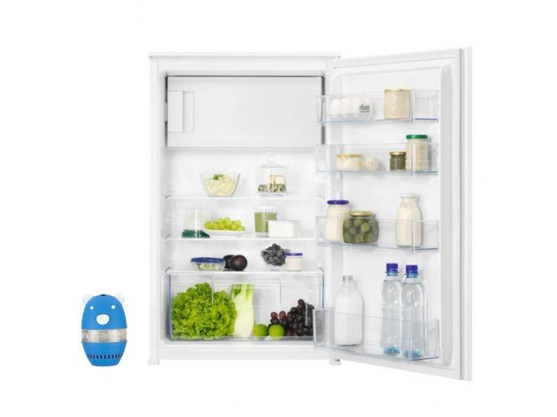 Réfrigérateur frigo simple porte intégrable 123l froid statique dégivrage auto