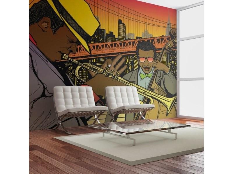 Papier peint melodies de new york A1-4XLFTNT0714