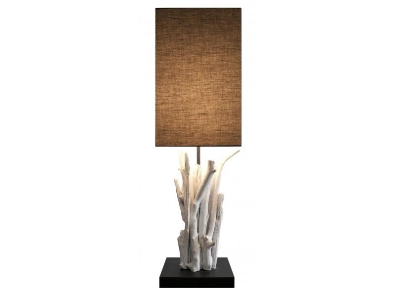 Lampe Bois Flotte Pur Vertigo Vente De Lampe De Bureau Conforama
