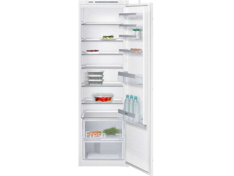 Réfrigérateur 1 porte intégrable à glissière 54cm 319l a++ statique blanc - ki81rvu30 ki81rvu30