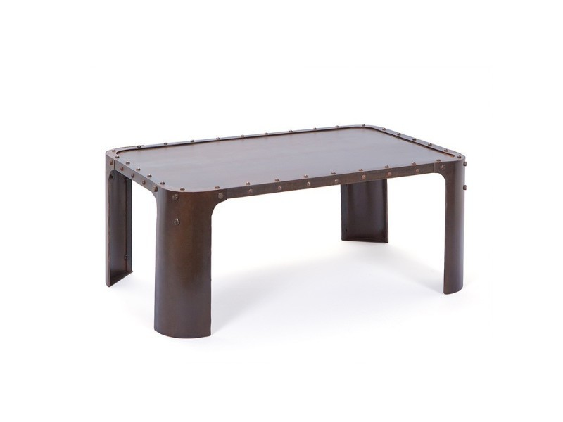 Paris prix - table basse industrielle métal \