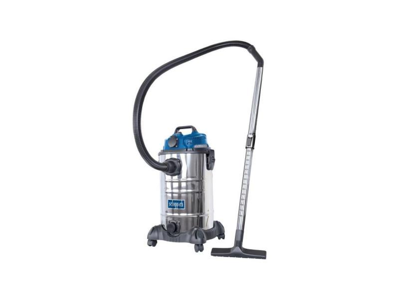 Aspirateur eau et poussiere 30l 1400w avec prise synchrone 200w + une brosse combinée, un suceur plat, un filtre mo… SCH4046664068631
