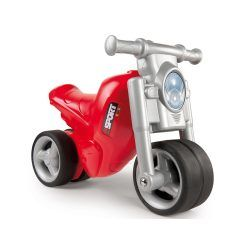 Trotteur bébé moto rouge