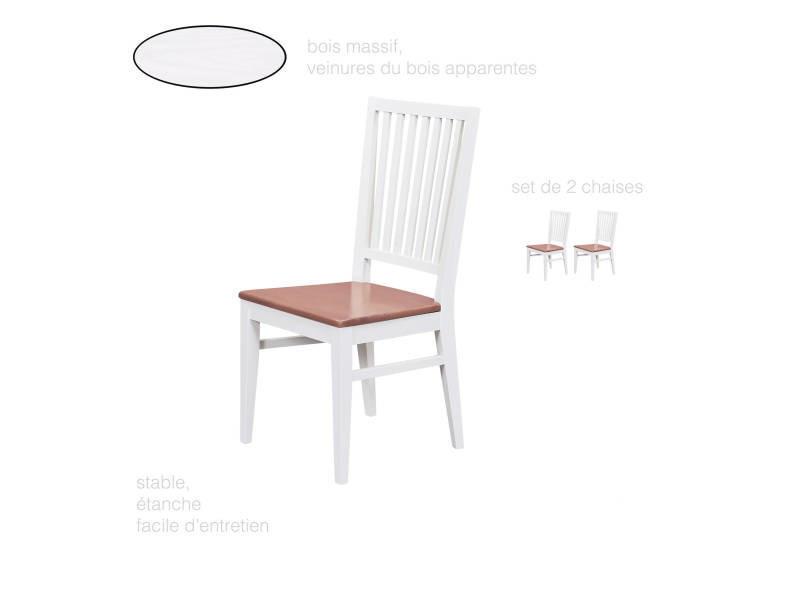 Chaise Style Romantique Salon Salle A Manger Cuisine Dossier